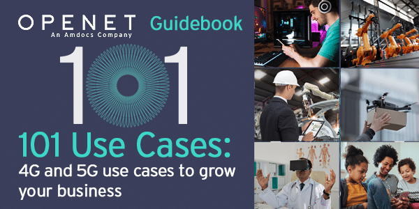 101 Use Cases - 5G and 4G use cases