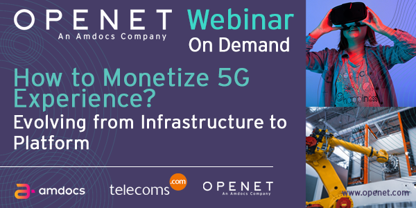 How to monetize 5G experience? Evolving from infrastructure to platform
