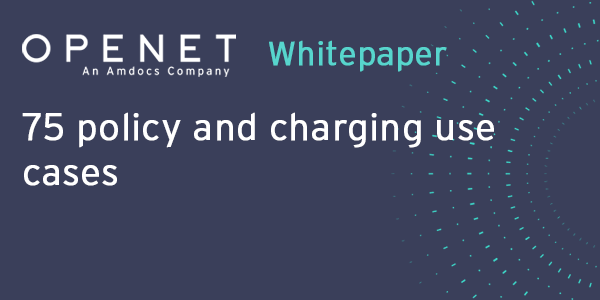 75 policy and charging use cases