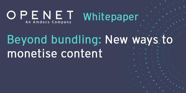 Beyond bundling: New ways to monetise content