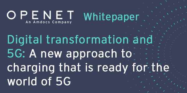 Digital transformation and 5G – A new approach to charging that is ready for the world of 5G