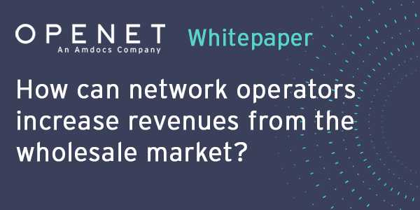 How can network operators increase revenues from the wholesale market?