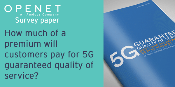 5G Guaranteed quality of service: Monetising the network to grow 5G revenues