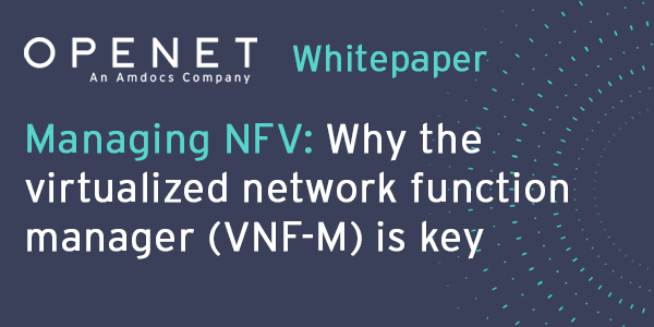 Managing NFV: Why the virtualized network function manager (VNF-M) is key