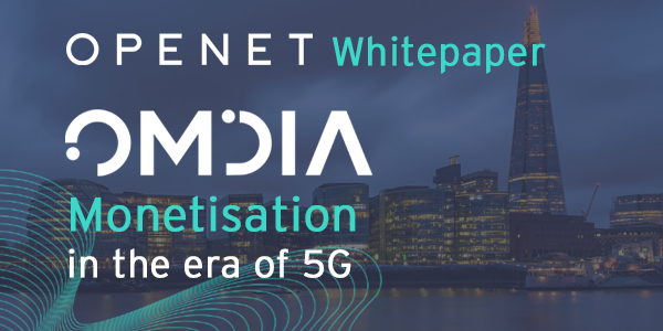 Monetisation in the era of 5G