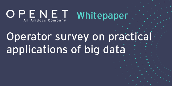Operator survey on practical applications of big data