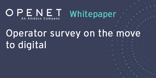 Operator survey on the move to digital