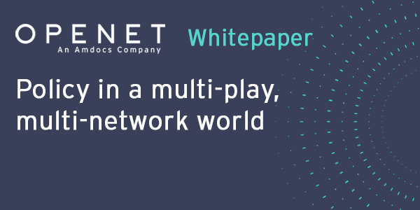 Policy in a multi-play, multi-network world