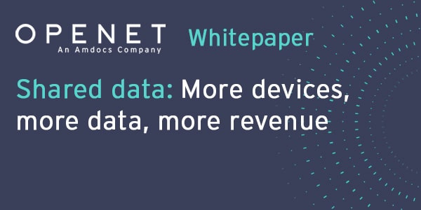Shared data: More devices, more data, more revenue