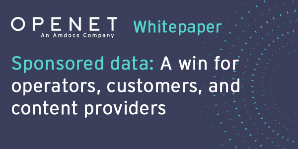 Sponsored data: A win for operators, customers, and content providers