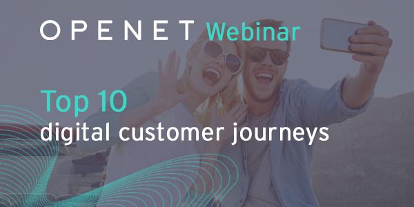 Top 10 digital customer journeys