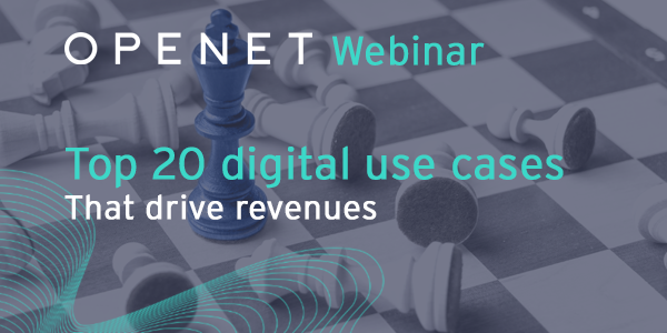 Top 20 digital use cases that drive revenues
