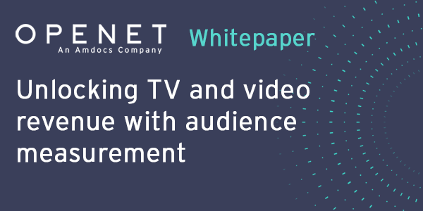 Unlocking TV and video revenue with audience measurement