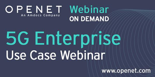 5G Enterprise use cases webinar