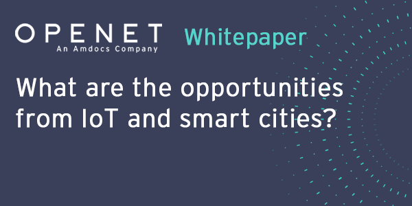 What are the opportunities from IoT and smart cities?