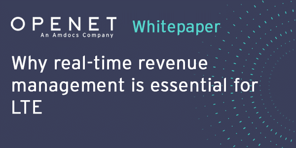 Why real-time revenue management is essential for LTE